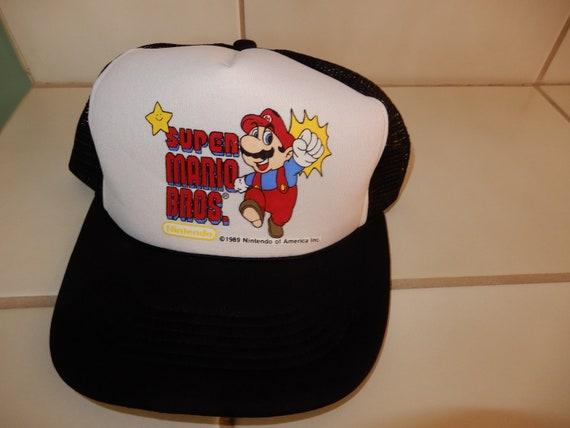 1989 Super Mario Brothers snapback hat - vintage 8