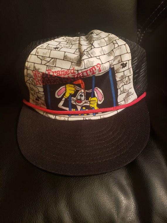 1987 Roger Rabbit snapback hat / cap - vintage 80s