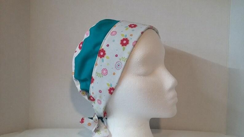 Ear Saver Scrub Cap Doctors Scrub Cap Surgical Scrub Hat Nurse Scrub Hat Reversible Scrub Hat Face Mask Washable Cotton Scrub Hat