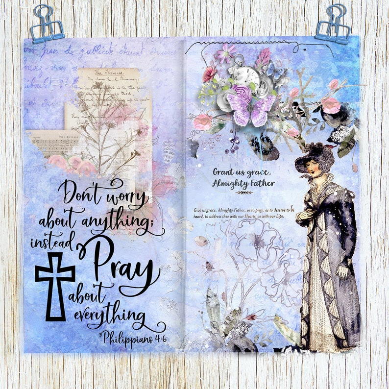 Jane Austin Mixed Media Art Journaling