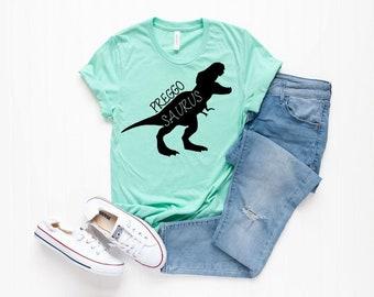 2f680523 Preggosaurus Shirt, Pregnancy Announcement Shirt, Baby Announcement,  Maternity Shirt, Funny Pregnancy Announcement, Preggosaurus, pregnancy