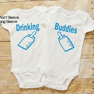 Funny Twin shirts Twin onesies\u00ae Monkey See Monkey Do Monkey Twins Onesies\u00ae