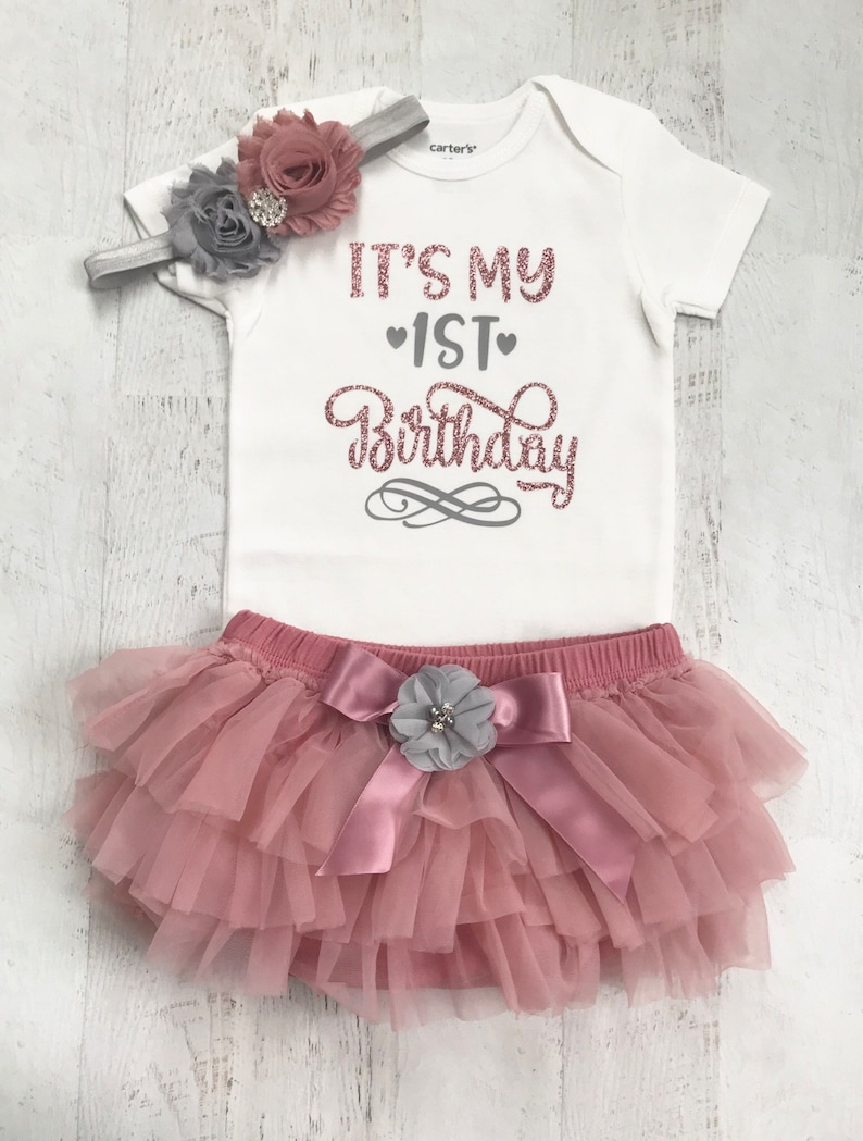 First Birthday Outfit Girl Its My