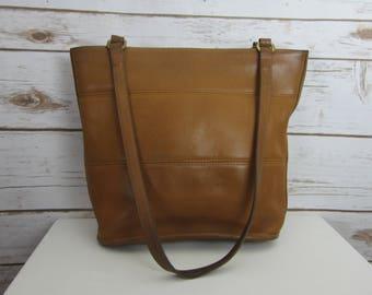 b40f208c6e Vintage COACH Tribeca Hobo Bucket Bag - 9098 - Caramel Brown Leather  Shoulder Bag - Made in Costa Rica - Classic - Minimalist