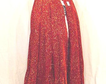 Red velveteen with gold renaissance cloak cape 6623A abe