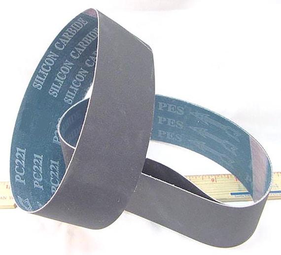 8 X 3 X 25 7//32 8000 Grit Diamond Sanding Belt for 8 Expanding Rubber Drum