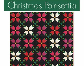 Christmas Poinsettia Pattern by V and Co