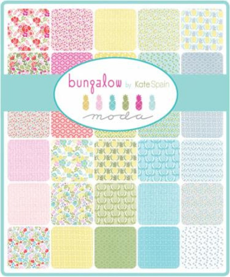 Bungalow Layer Cake by Kate Spain Moda