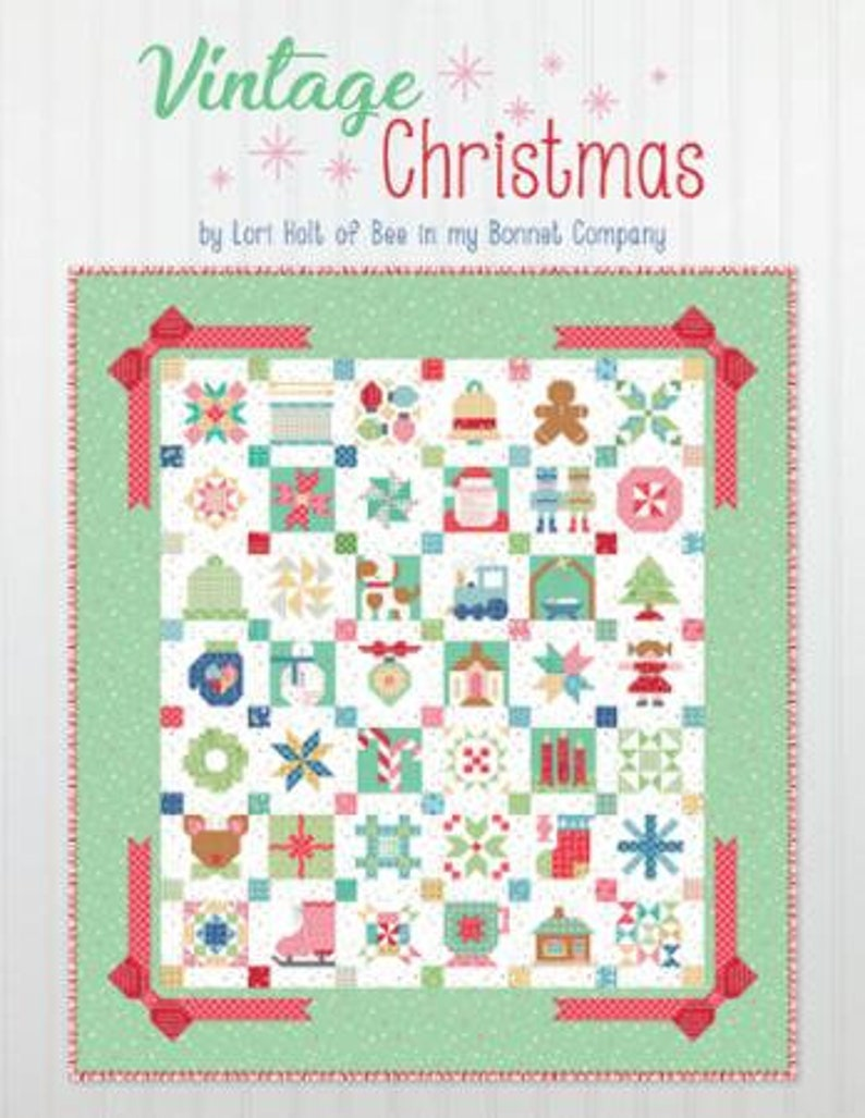 Vintage Christmas ISE 925 Its Sew Emma by Lori Holt