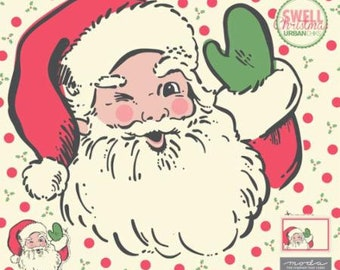 PREORDER Swell Christmas Santa Digital Panel 52 X 60