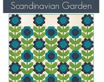 Scandinavian Garden Pattern by V and Co