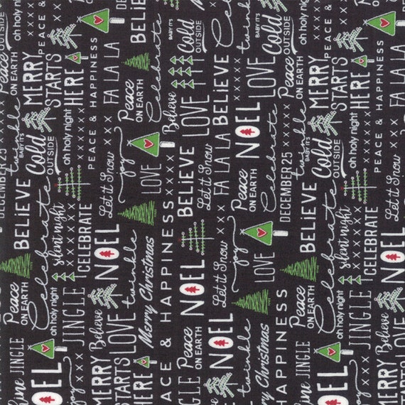 Merry Starts Here Fabric Collection by Sweetwater for Moda Fabrics offered by SewEndipitous Green