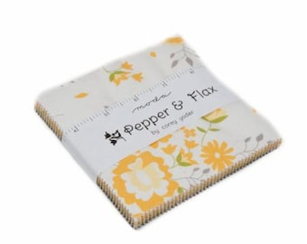 Pepper & Flax Charm Pack by Corey Yoder of Little Miss Shabby - Moda
