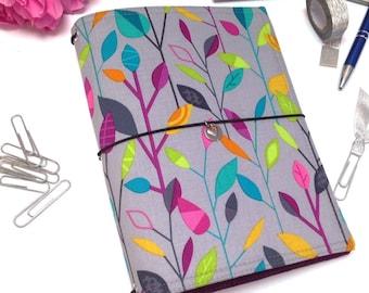 Fauxdori, Travelers Notebook Cover, Journal Cover, A5 Notebook Cover, Moleskine Cover, Personal Planner Cover, Vegan Fauxdori, Faux Dori