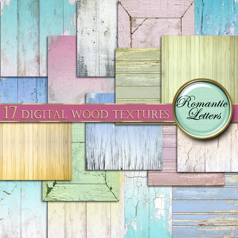 Digital Wood Paper digital wood background digital newborn image 0