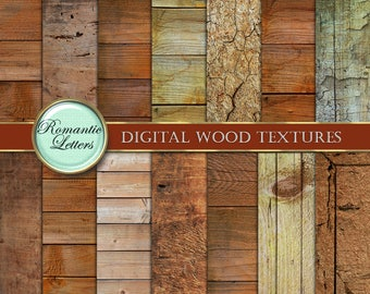 Wood Texture digital paper pack Scrapbooking digital Paper wood  background  newborn  digital photography backdrop wood paper background