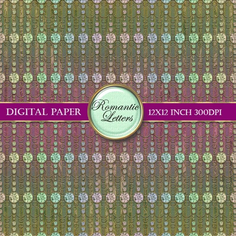 Digital scrapbook pages 12x12 scrapbook background paper digital scrapbook album paper digital paper gold foil vintage paper gold download