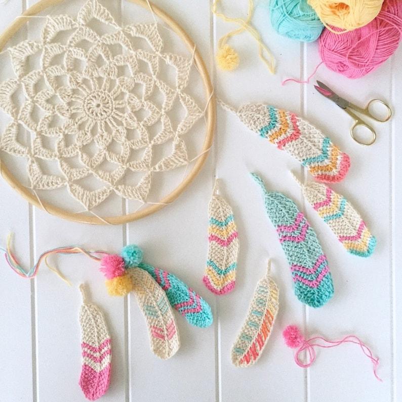 Tunisian Feathers pattern image 0