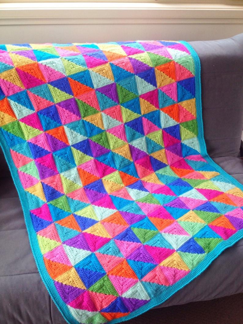 Crochet Blanket Pattern with bonus 'Design Your Own' image 0
