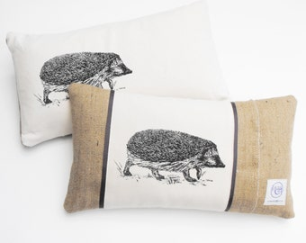 Rectangle Hedgehog  Cushion
