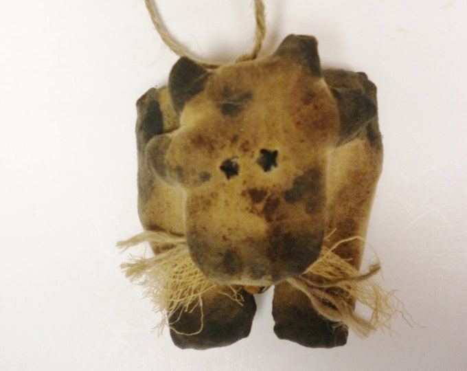 Primitive Cow Ornament - Made To Order | Handmade Holstein Cows | Country Farmhouse Cow Ornaments