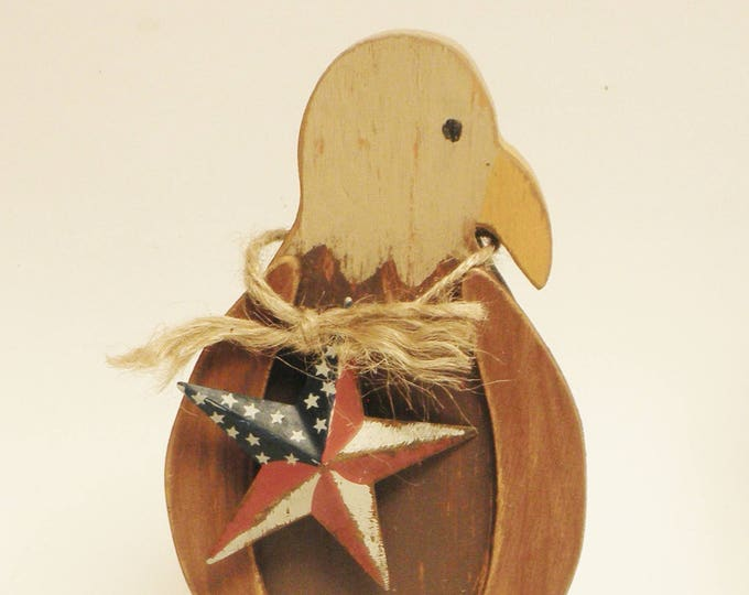 American Eagle, Wood Eagles, Primitive Americana Decor