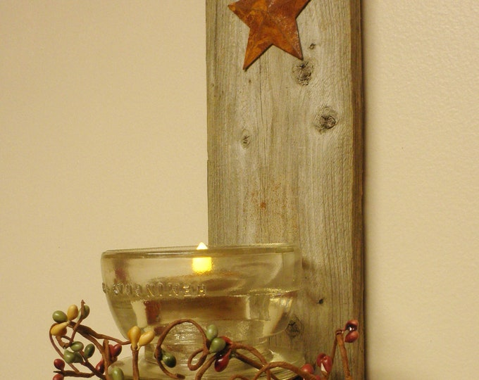 Electric Insulator Candle Sconce | Handmade Candle Holders | Wall Sconces