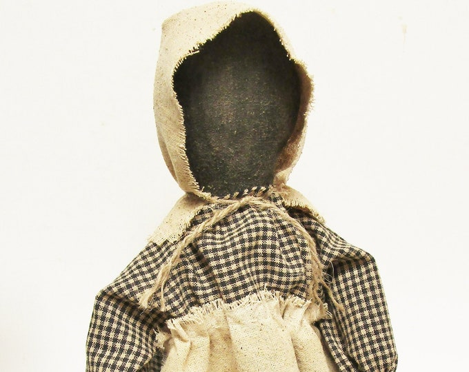 Prairie Doll | Handmade Folk Art Dolls | Colonial Decor | Primitive Dolls | Country Farmhouse Decor