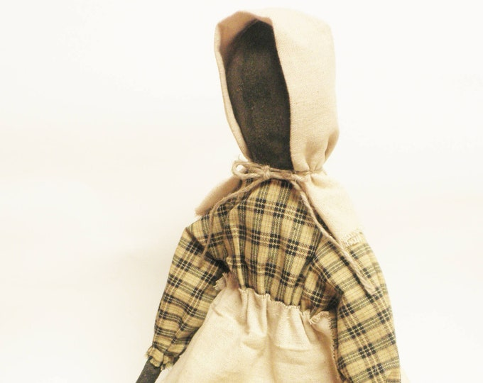Primitive Prairie Doll | Handmade Faceless Dolls | Primitive Dolls | Colonial Decor