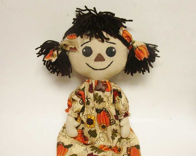 Fall Annie Doll | Primitive Annie Dolls | Handmade Annie Dolls