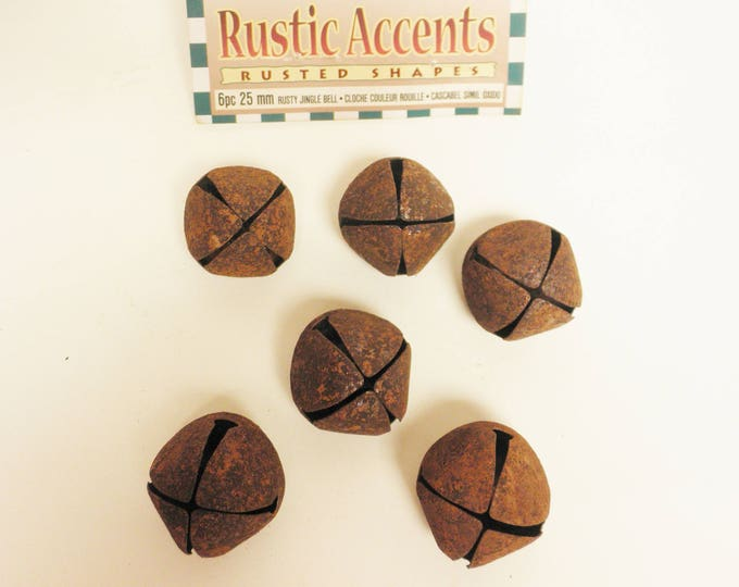 Rusty Jingle Bells 25 mm | Primitive Bells | Metal Bells
