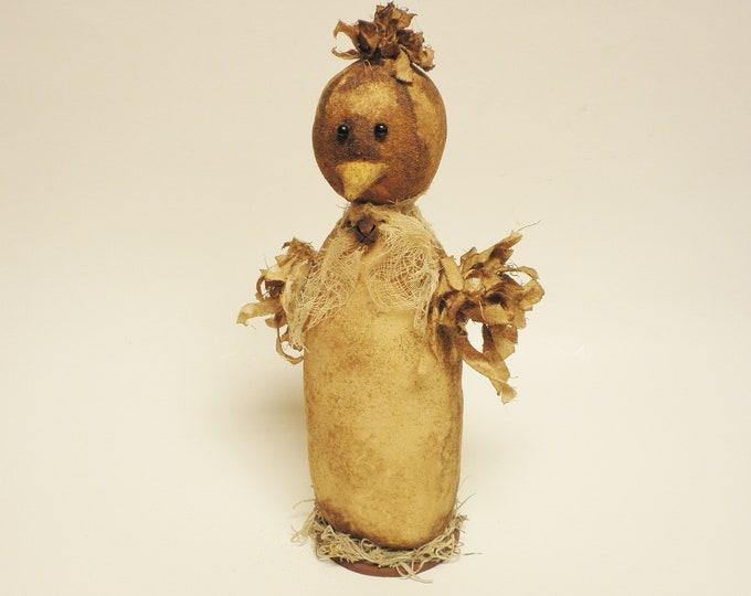 Primitive Chick | Handmade Chickens | Primitive Dolls | Country Farmhouse Chicken Decor