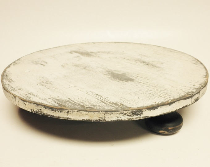 Round Table Riser | Pie Cake Stands | Primitive Risers | Country Farmhouse Kitchen Decor
