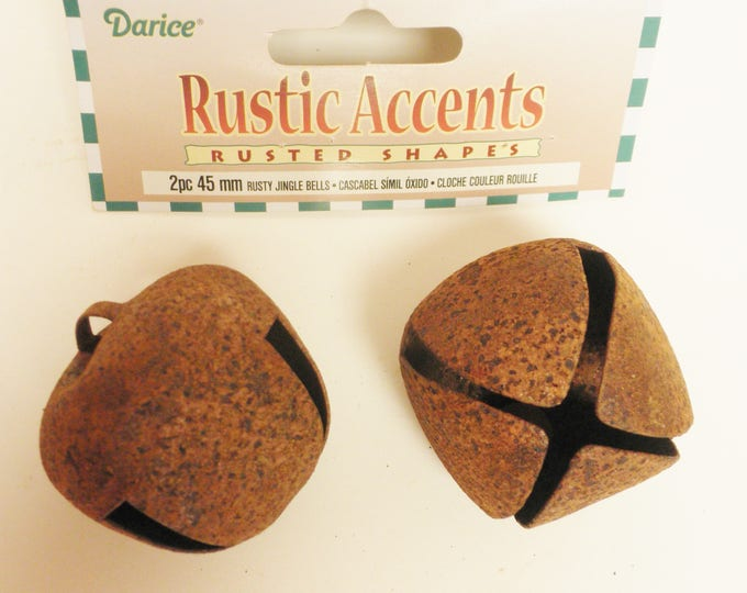 Rusty Bells 45 mm | Jingle Bells | Metal Bells