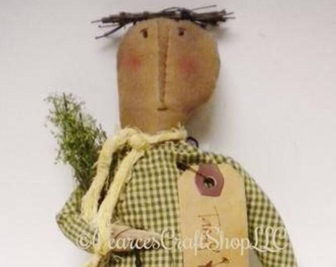 Tansy Doll, Primitive Dolls, Spring Decor, Decorative Dolls, Country Farmhouse Decor,