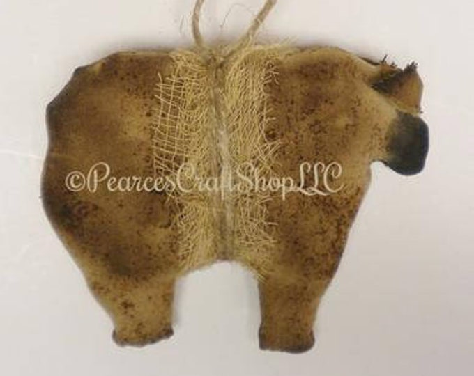 Primitive Sheep Ornament - Made To Order | Country Farmhouse Sheep Decor | Primitive Ornaments