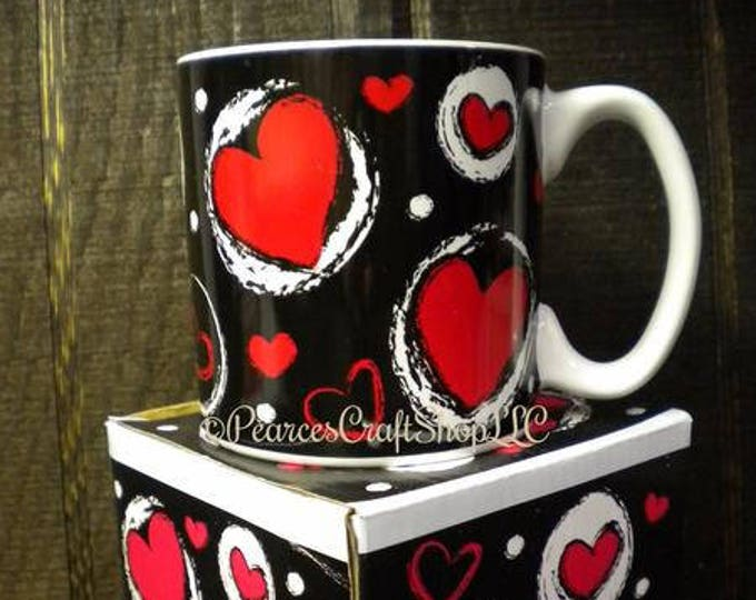 Valentine's Day Ceramic Mug, Ceramic Mugs, Coffee Mugs, Valentine's Day Gifts, Kitchen Decor