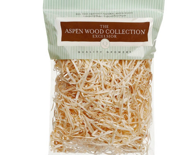 Wood Excelsior | Aspen Wood Shred | Primitive Prairie Grass | Bowl Fillers