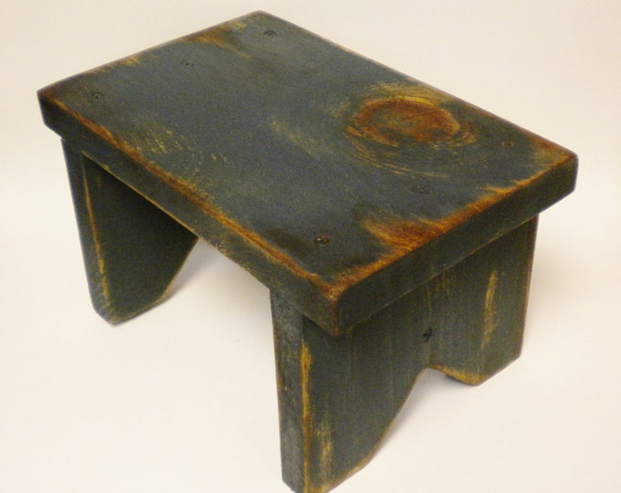 Primitive Bench Riser | Wood Benches | Table Risers | Country Farmhouse Benches