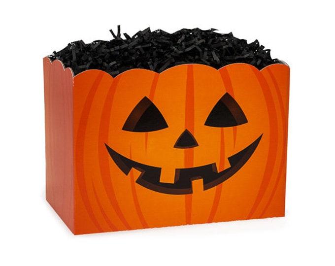 Pumpkin Gift Box   Jack-o-Lantern Theme Boxes   Halloween Gift Boxes