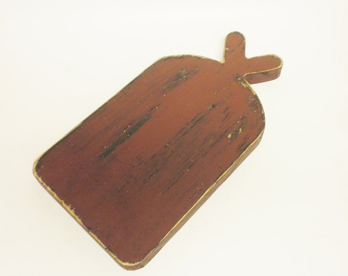 Primitive Riser | Decorative Cutting Boards | Punch Needle Boards | Table Risers