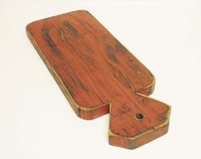 Decorative Cutting Board, Primitive Table Risers, Wood Riser, Kitchen Decor, Punch Needle Boards, Country Farmhouse Decor