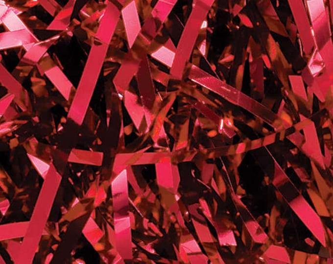 Red Metallic Shred | Gift Basket Filler | Gift Packaging