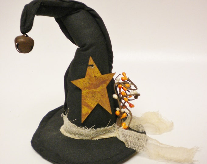 Witch Hat Decoration, Primitive Witch Hats, Halloween Decor