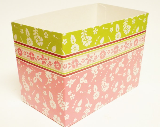 Floral Gift Box   Flower Theme Gift Basket Boxes   Spring Gift Packaging
