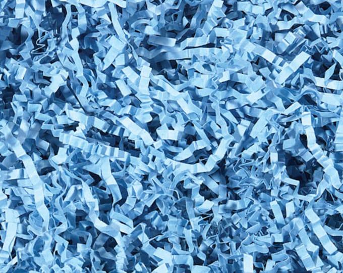 Blue Paper Shred | Gift Basket Filler | Packing Material | Decorative Paper