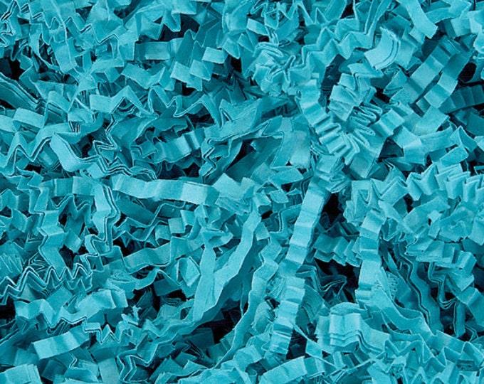 Teal Gift Basket Shred | Crinkle Paper Shred | Packing Material