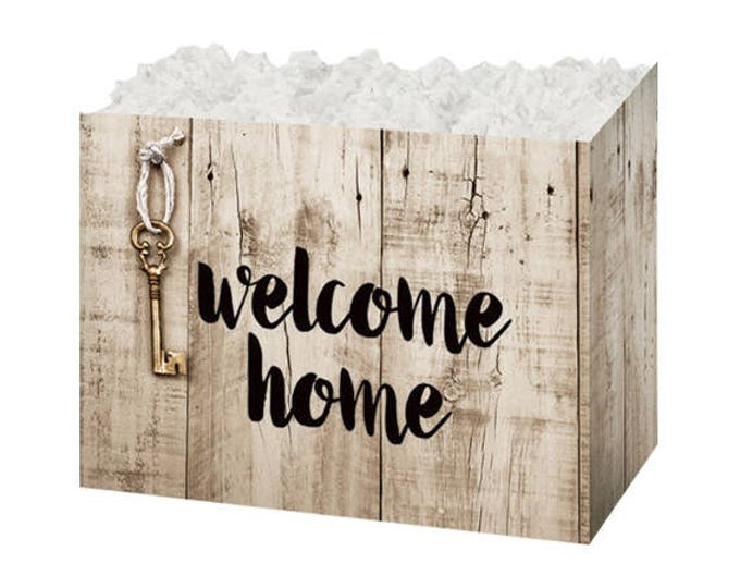 Welcome Home Gift Box, House Warming Gift Packaging, Gift Basket Boxes