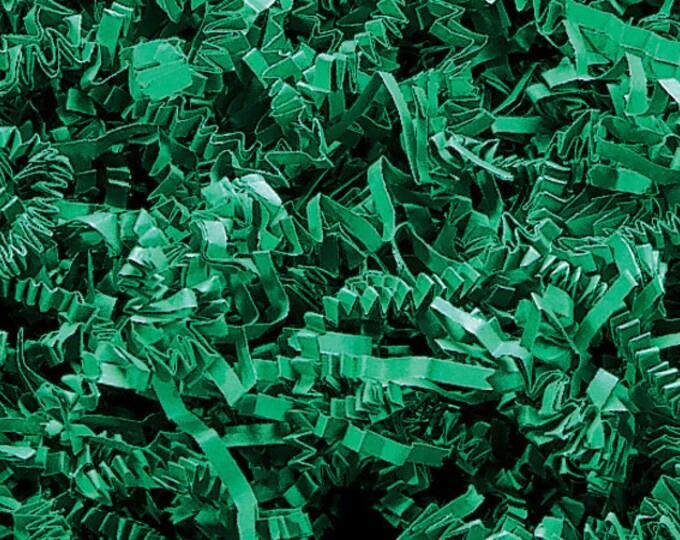 Green Paper Shred | Easter Grass Basket Filler | Gift Box Decorative Paper