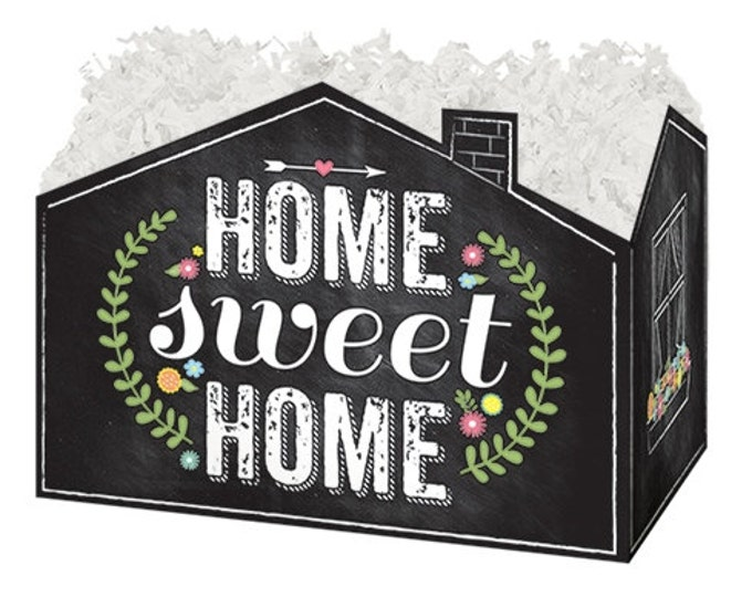 Home Sweet Home Theme Gift Box, House Warming Gift Packaging, Gift Basket Boxes